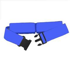 INDRI6221-EA - Mobility Transfer Systems - Gait Belt, Plastic Buckle, Blue, 54, 1/EA