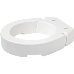 INDRMB32200-EA - Apex-CarexStandard Hinged Toilet Seat Riser 3-1/2, 1/EA