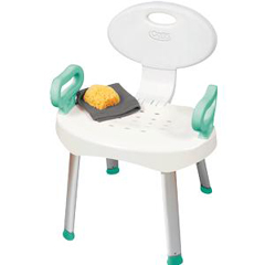 INDRMB66000-EA - Apex-Carex - E-Z Bath & Shower Seat with Handles, 1/EA