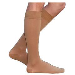 INDSG232CLLM66-EA - Sigvaris - Cotton Comfort Mens Knee-High Compression Stockings Large Long, Crispa, 1/EA