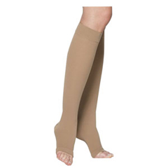 INDSG232CLLO66-EA - Sigvaris - Cotton Comfort Calf, 20-30, Large, Long, Open, Crispa, 1/EA