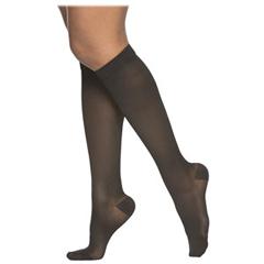 INDSG232CLLW10-EA - Sigvaris - Cotton Series Calf, 20-30, Large, Long, Closed Toe, Navy, 1/EA