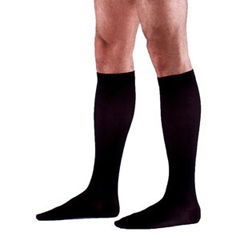 INDSG232CXSM99-EA - Sigvaris - Cotton Comfort Calf, 20-30, X-Large, Short, Closed, Black, 1/EA