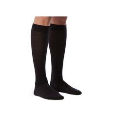 INDSG242CMLW99-PK - Sigvaris - All Season Merino Wool Calf, 20-30, Medium, Long, Closed, Black, 2/PK