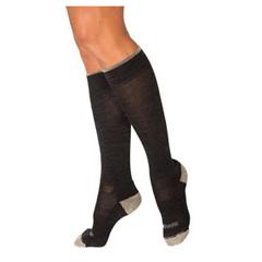 INDSG421CM12-EA - Sigvaris - Merino Outdoor Socks, Calf, 15-20 mmHg, Medium, Charcoal, 1/EA