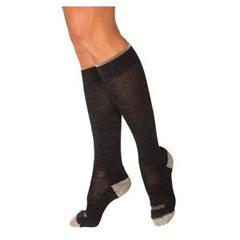 INDSG421CX12-EA - Sigvaris - Merino Outdoor Socks, Calf, 15-20 mmHg, X-Large, Charcoal, 1/EA