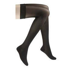 INDSG782NMLW99-EA - Sigvaris - Eversheer Thigh 20-30mmHg Medium, Long, Closed Toe, Womens, Black, 1/EA