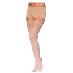 INDSG782NSSW33-EA - Sigvaris - EverSheer Thigh-High with Grip-Top, 20-30 mmHg, Small, Short, Closed, Natural, 1/EA