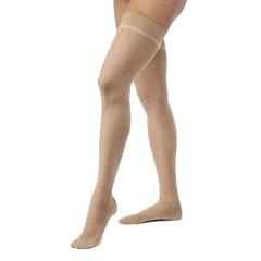 INDSG782NSSW36-EA - Sigvaris - EverSheer Womens Thigh-High 20-30 Stocking w/Grip-Top, Small, Short, Closed Toe, Suntan, 1/EA