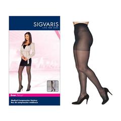 INDSG782PSSW94-EA - Sigvaris - Eversheer Pantyhose, 20-30, Small, Short, Closed, Nightshade, 1/EA