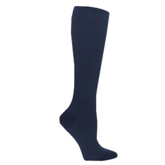 INDSG842CSSW09-EA - Sigvaris - Soft Opaque Calf, 20-30, Small, Short, Closed, Midnight Blue, 1/EA
