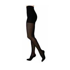 INDSG842PLLW99-EA - Sigvaris - Soft Opaque Pantyhose, 20-30, Large, Long, Closed, Black, 1/EA