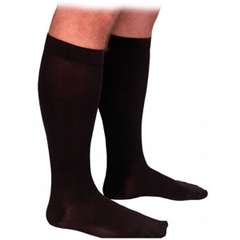 INDSG863CXSW99-EA - Sigvaris - Select Comfort Calf, 30-40 mmHg, X-Large, Short, Closed, Black, 1/EA