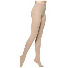INDSG863PMLW66P-EA - Sigvaris - Select Comfort Pantyhose Plus, 30-40, Medium, Long, Closed, Crispa, 1/EA
