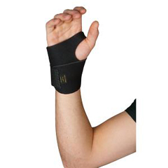 INDSS4536272-EA - Cardinal Health - Leader® Neoprene Wrist Support with Thumb Loop
