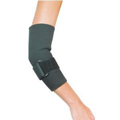 INDSS4915187-EA - Cardinal HealthLeader® Neoprene Tennis Elbow with Strap, Small