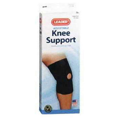 INDSS4915393-EA - Cardinal HealthLeader® Neoprene Open Patella Knee Support, Medium
