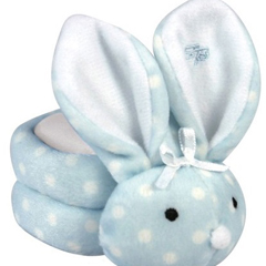 INDSTP696140-EA - Stephan BabyBoo-Bunnie Comfort Toy, Dot Blue, 1/EA