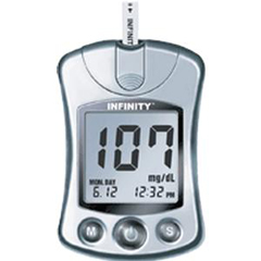 INDUBG5103-CS - US DiagnosticsInfinity Automatic Coding Blood Glucose Monitoring System, 1/EA
