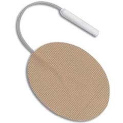 INDUP650-PK - Cardinal Health - R-Series Self-Adhering Reusable Stimulating Electrode 1-1/2 x 2 Oval, 4/PK
