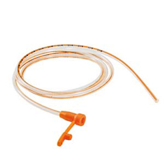 INDWDFTS80PEO-EA - NeoMed - Indwelling Polyurethane Enteral Feeding Tube with Radiopaque Orange Stripe 8 Fr 16, 1/EA
