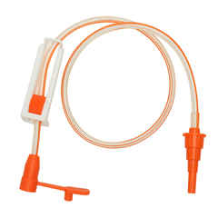 INDWDNM18ENENB1-EA - NeoMed - Enteral Only 18 Male/Female Set With Clamp, Large Bore, 1/EA