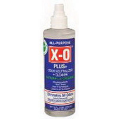 INDXO8XR-EA - X-O CorpX-O Odor Neutralizer Only 8 oz.Finger Pump Spray, 1/EA