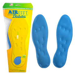 INDYFAF00CD1M-EA - Airfeet - DIABETES CLASSIC Insoles, Size 1M, One Pair