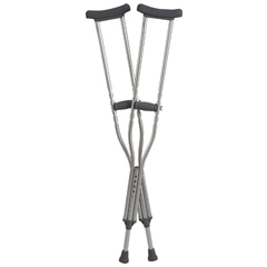 INDZCHCA801ADB-PK - Cardinal Health - Bariatric Heavy-Duty Crutches, Adult