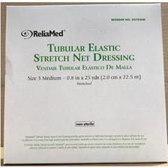 INDZG703NB-EA - Independence Medical - ReliaMed Tubular Elastic Stretch Net Dressing, Medium 5 - 6 x 25 yds. (Hand, Arm, Leg and Foot), 1/EA