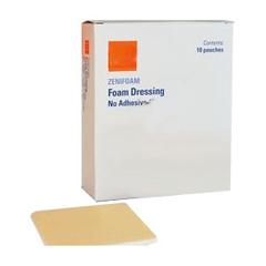 INDZM10088-BX - ZeniMedical - ZeniFoam Polyurethane Foam Dressing, 8 x 8, 10/BX