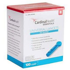 INDZPL10030A-BX - Independence Medical - ReliaMed Universal Lancet 30G (100 count), 100/BX