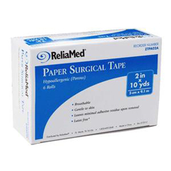 INDZTPA02A-EA - Independence Medical - ReliaMed Paper Surgical Tape 2 x 10 yds., 1/EA