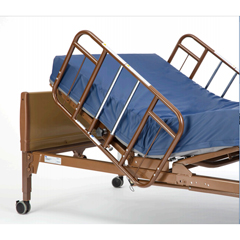 INV6630DS - Invacare - Clamp-On Half-Length Rails for Homecare Beds