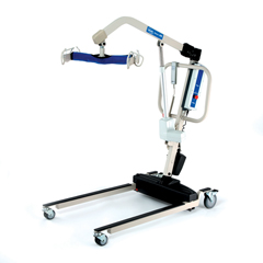 INVRPL600-2 - Invacare - Reliant Heavy-Duty Battery-Powered Patient Lift with Power Opening Low Base