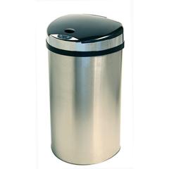 ITOIT13HXEA - iTouchless13 Gallon Semi-Round Extra-Wide Opening Touchless Trash Can® HX