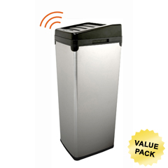 ITOIT14SCCS - iTouchless14 Gal. Automatic Stainless Steel Touchless Trash Can® SX