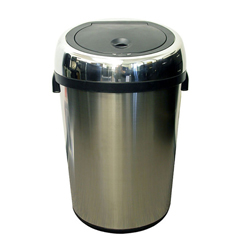 ITOIT18RCEA - iTouchless18 Gal. Automatic Stainless Steel Touchless Trash Can® NX