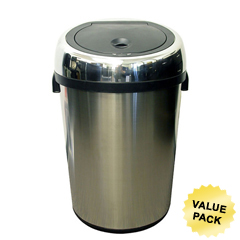 ITOIT23RCCS - iTouchless23 Gal. Automatic Stainless Steel Touchless Trash Can® NX