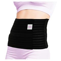 ITAGAB-309-W-LBL - Ita-MedGABRIALLA® Breathable Abdominal Support Binder - Black, Large