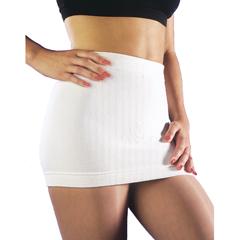 ITAGAGS-501S - Ita-MedGABRIALLA® Angora Warming Support Binder - White, Small