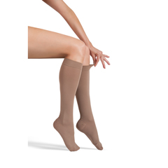 ITAGH-304MB - Ita-MedGABRIALLA® Microfiber Knee Highs - Beige, Medium