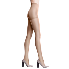 ITAGH-330Q-ND - Ita-Med - GABRIALLA® Sheer Pantyhose - Nude, Queen Plus