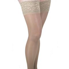 ITAGH-80MND - Ita-MedGABRIALLA® Sheer Thigh Highs - Nude, Medium