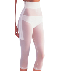 ITAGPLG-820L - Ita-MedGABRIALLA® Post-Liposuction Girdle - White, Large