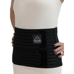 ITAIAB-309-W-XLBL - Ita-MedPost-Partum Abdominal Support Binder - Black, XL