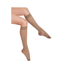 ITAIH-180SB - Ita-Med - Sheer Knee Highs - Beige, Small