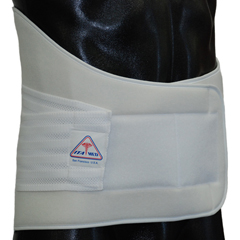 ITAILS-112-I-SW - Ita-Med - Extra Strong 12 Lower Back Support - White, Small