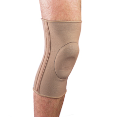 ITAMEKN-401L - Ita-MedMAXAR Elastic Knee Brace with Donut-Shaped Silicone Ring and Metal Stays, Large