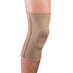 ITAMEKN-401S - Ita-MedMAXAR Elastic Knee Brace with Donut-Shaped Silicone Ring and Metal Stays, Small